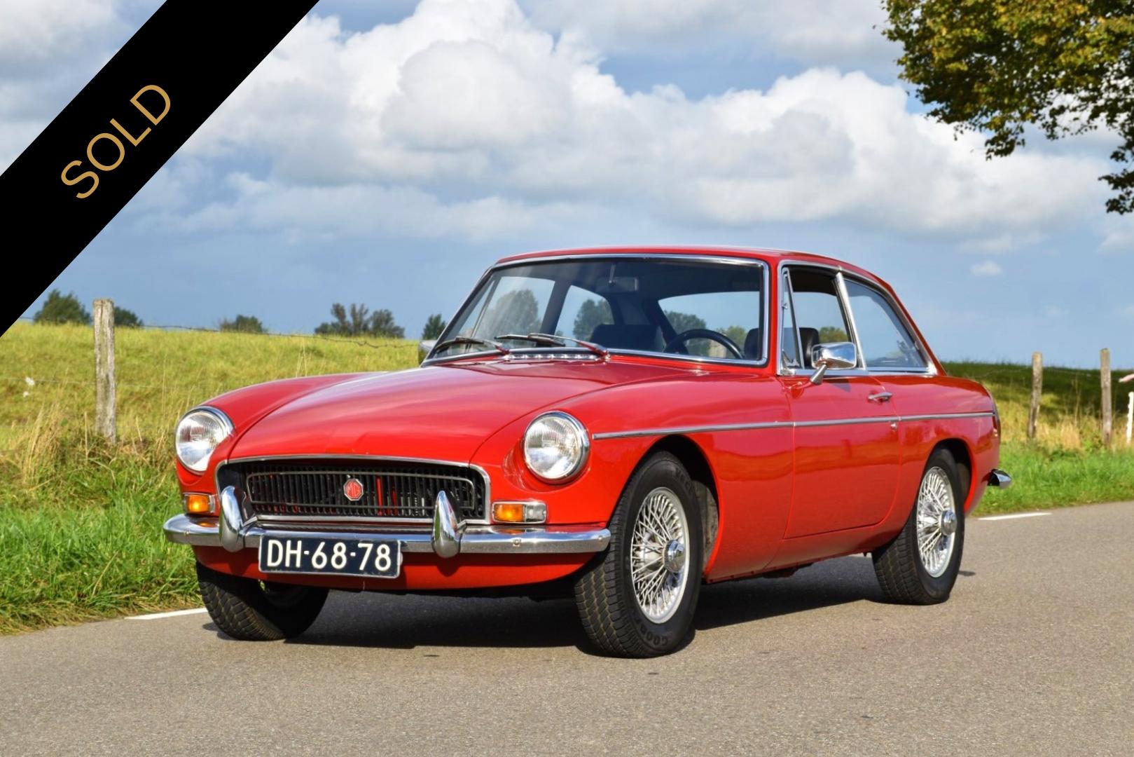 1970 MGB GT 1800