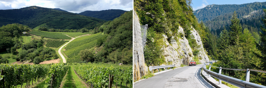 Tour goes les Vosges